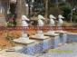 应石雕喷水海马